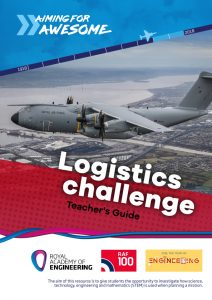 RAF100: Aiming for Awesome – Logistics challenge