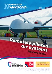 RAF100: Aiming for Awesome – Remotely piloted air systems