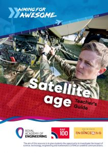 RAF100: Aiming for Awesome – Satellite age