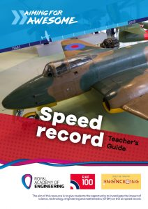 RAF100: Aiming for Awesome – Speed record